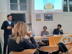 Silvio Gregorini all'incontro dei GD sul tema del cyberbullismo