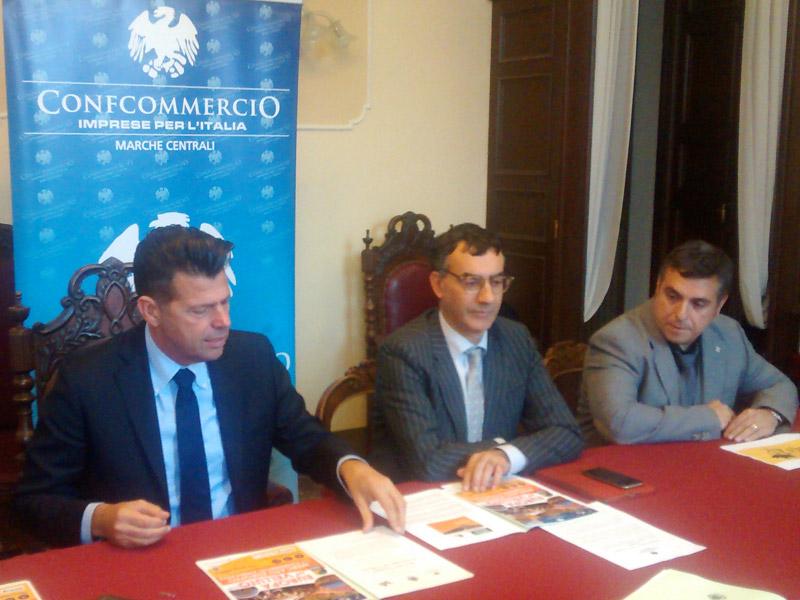 Mangialardi e Polacco presentano il Mercato Europeo Ambulante che farà tappa a Senigallia