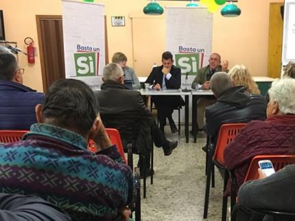 L'incontro a Borgo Bicchia di Senigallia sulla riforma alla Costituzione