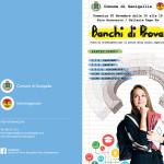 """Locandina dell'iniziativa """"Banchi di prova"""" per l'orientamento sulle scuole superiori di Senigallia"""