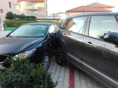 L'incidente al Cesano di Senigallia