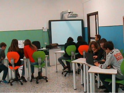 Europe Code, studenti della Marchetti