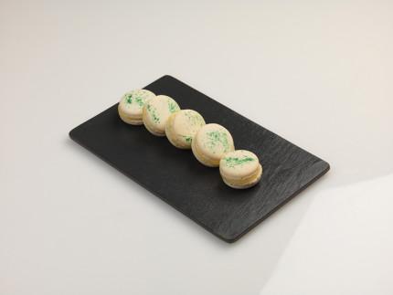Macaron alle mandorle e olio extravergine d'oliva - ricetta di Sara Acorroni