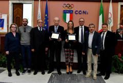 I marchigiani all'Assemblea Elettiva della Federazione Italiana Scherma