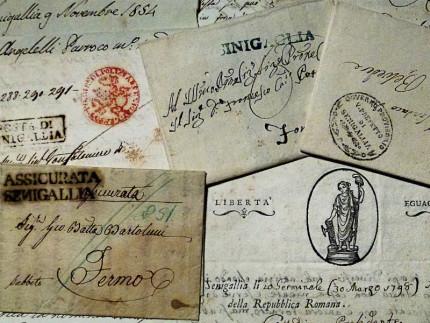 lettere, cartoline, posta