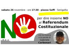 La Città Futura - NO al Referendum Costituzionale