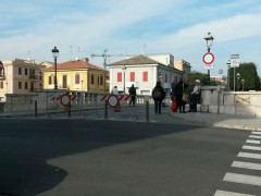 Ponte II Giugno a Senigallia, chiuso al traffico veicolare