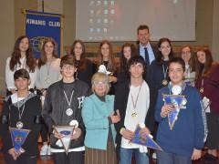 Studenti di Senigallia premiati da Kiwanis Club