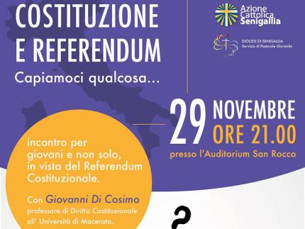 Costituzione e referendum... Capiamoci qualcosa