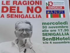 Referendum costituzionale: incontro sulle ragioni del No con Gianfranco Pasquino