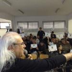Franco Mussida spiega il progetto di portare la musica in carcere ad Ancona per studiare le emozioni dei detenuti