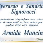 Morte Armida Mancini