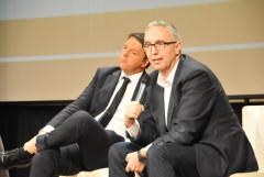 Matteo Renzi e Luca Ceriscioli