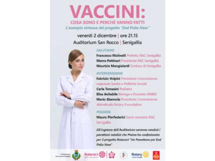 convegno sui vaccini all'Auditorium San Rocco