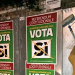 """Referendum, a Castelleone di Suasa gli spazi propagandistici riservati al """"no"""" sono stati coperti dai manifesti per il """"sì"""""""