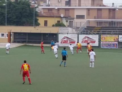 Il match al Bianchelli tra Olimpia Marzocca e Osimana