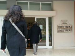 Elettori alle urne a Senigallia per la votazione per il referendum costituzionale del 4 dicembre 2016
