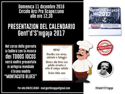 Presentazione calendario Gent'd'S'nigaja 2017