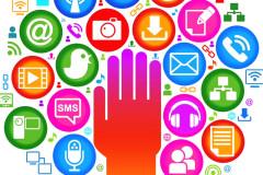 Multimedialità, social network, nuovi media, web, connessione, internet