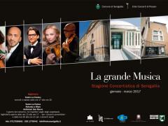 La locandina della stagione concertistica 2017 di Senigallia
