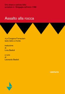 """La copertina del libro """"Assalto alla Rocca. La congiura Fornaciari"""""""