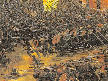 """Il """"sacco"""" di Roma da parte dei Lanzichenecchi (1527)"""