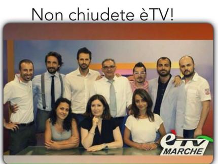 Lo staff di E'Tv Marche