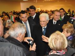 La visita del presidente della Repubblica Sergio Mattarella a Porto Sant'Elpidio