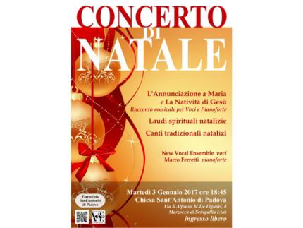 Riprendono dal 3 al 7 gennaio i Concerti di Natale del New Vocal Ensemble