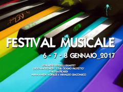 La locandina del Festival musicale al Teatro Nuovo Melograno di Senigallia