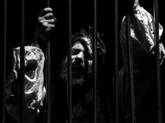 Daniele Vocino nell'Otello di Shakespeare messo in scena dal Teatro Nuovo Melograno di Senigallia