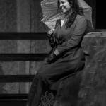 Catia Urbinelli nell'Otello di Shakespeare messo in scena dal Teatro Nuovo Melograno di Senigallia