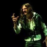 Cristian Strambolini nell'Otello di Shakespeare messo in scena dal Teatro Nuovo Melograno di Senigallia