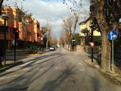 Nuovi semafori a Senigallia di colore nero e con luci a led