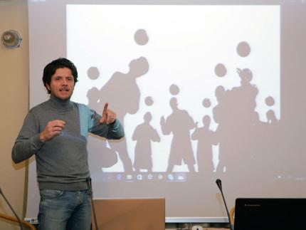La lezione alla LUAS sulla fotografia di Lorenzo Cicconi Massi