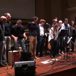 L'evento di beneficenza organizzato dai gruppi musicali senigalliesi Arbitri Elegantiae e Momo Duo per le popolazioni terremotate al San Rocco di Senigallia