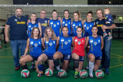 La squadra dell'US Pallavolo Senigallia femminile (serie C) 2016-2017