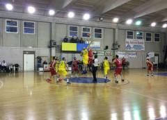 Salto d'inizio nel match tra Venafro e Senigallia