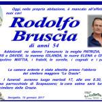 E' mancato all'affetto dei suoi cari Rodolfo Bruscia