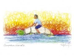 """Francesco Piobbichi, i """"disegni della frontiera"""" (Lampedusa)"""