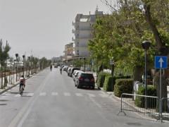 Lungomare G.Marconi a Senigallia. Foto del maggio 2016