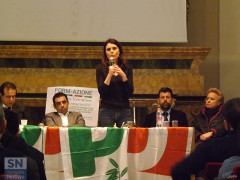 L'europarlamentare PD Simona Bonafè a Senigallia