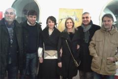 Inaugurata a 'La Via Granda Art Caffè' di Senigallia la mostra d'arte della pittrice Keti Imnadze