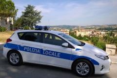 La Polizia Locale dell'Unione dei comuni Misa - Nevola, controlli a Castelleone di Suasa