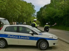 La Polizia Locale dell'Unione dei comuni Misa - Nevola, controlli a Castelleone di Suasa e Corinaldo