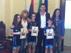 Federica Grilli, Federico Tumani e Filippo Moroni premiati