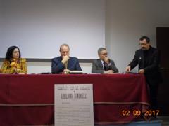 I relatori del convegno su Simoncelli a Senigallia
