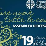 Il volantino dell'assembea elettiva dell'Azione Cattolica di Senigallia