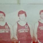 Marco Giampieri in una foto del settore giovanile della Pallacanestro Senigallia del 1977: è il numero 12 al centro