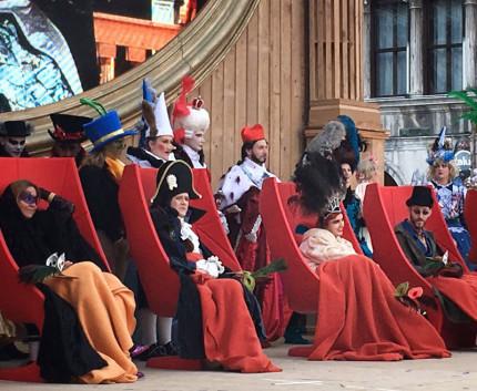 Anna e Lorenzo Marconi nella giuria di qualità al Concorso della Maschera più Bella al Carnevale di Venezia 2017